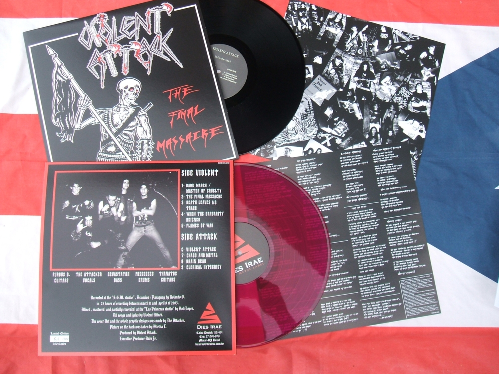 VIOLENT ATTACK - Final Massacre LP